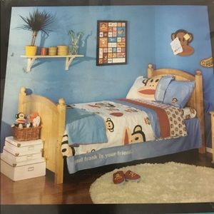 Paul frank twin sheet set New